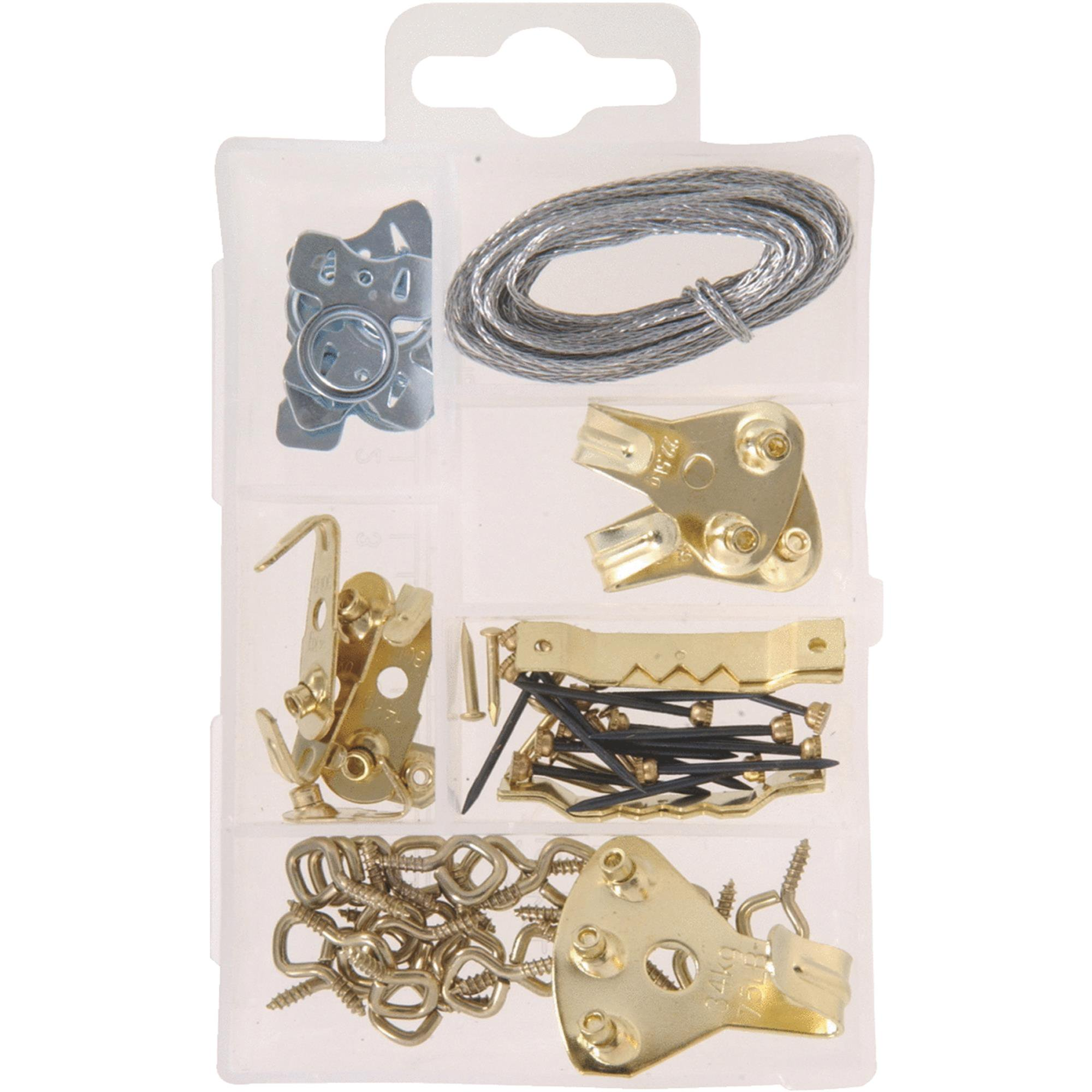 Heavy-duty Picture Hanger Assortment Kit