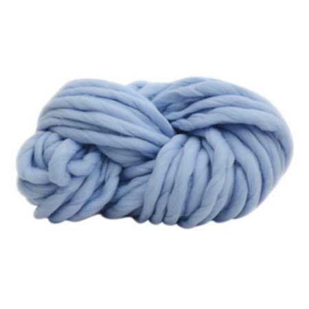 - Wool Yarn,Bulky Roving Yarn for Hand-Woven Knitting,Crocheting Felting,Making Rugs Blanket and Crafts