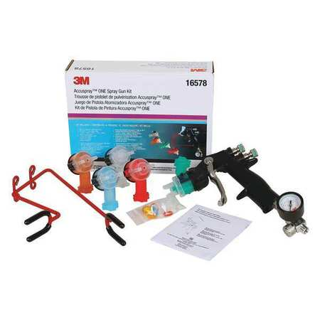 3M Accuspray ONE Spray Gun Kit, 16578, 1 kit