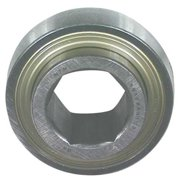 NTN HPS100TPD Radial Ball Bearing, Nylon, 1.0866 In. W