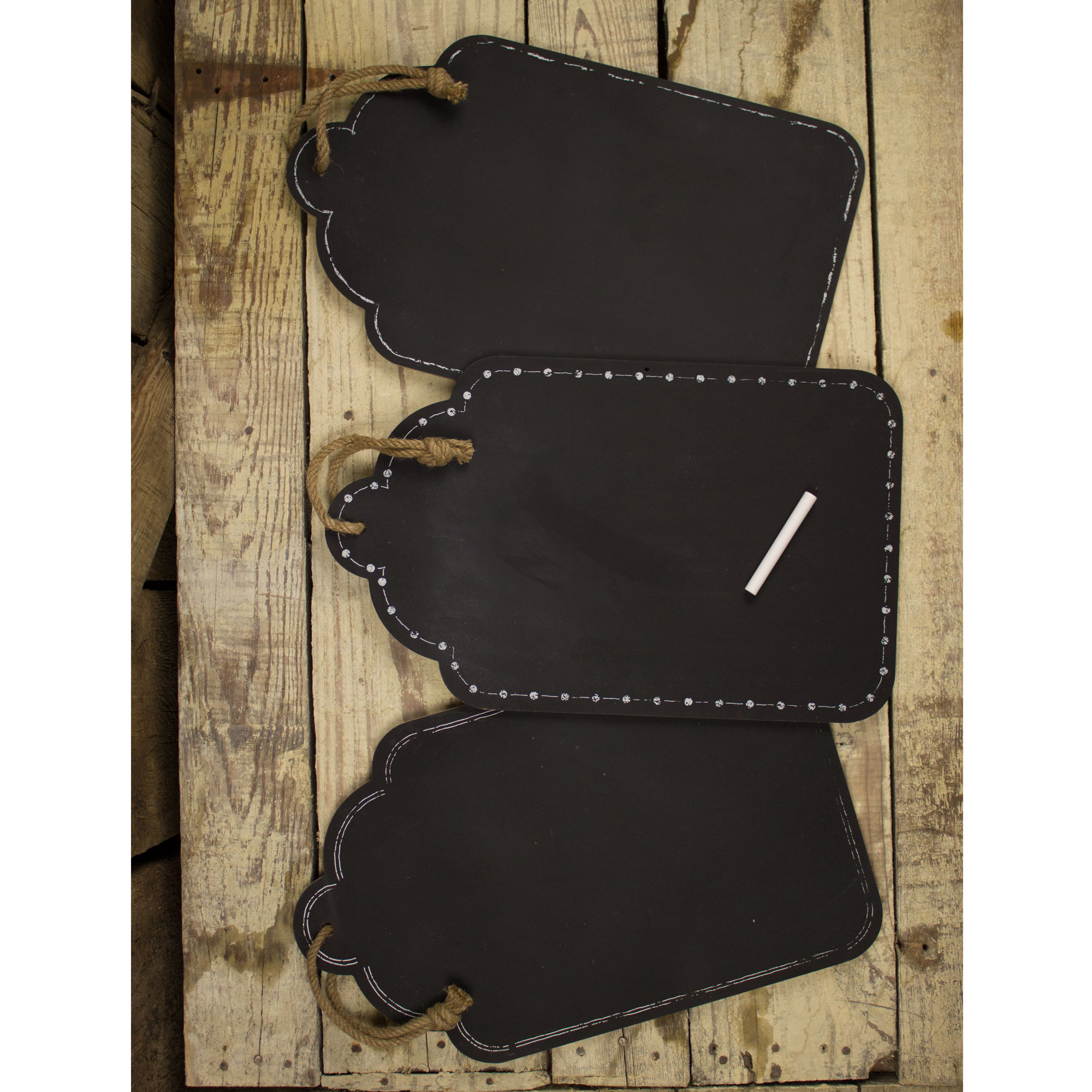 Large Hanging Chalkboard Set