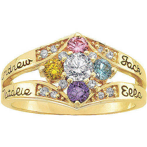 Keepsake Personalized Daydream Mother's Birthstone Ring