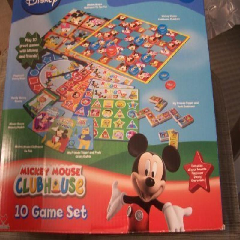 Disney Mickey Mouse Clubhouse 10 Game Set by
