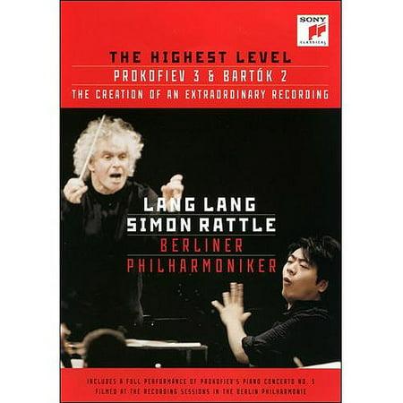 Lang Lang/Simon Rattle/Berliner Philharmoniker: The Highest Level - Prokofiev 3 And Bartok (Lang Lang Simon Rattle Berlin Philharmonic Orchestra)