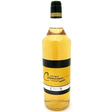 Clovis Reims France Champagne Ardenne Vinegar - 34 fl oz (1000 mL) French Wine