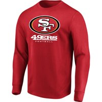 Product Image Mens Majestic Scarlet San Francisco 49ers Our Team Long Sleeve T Shirt