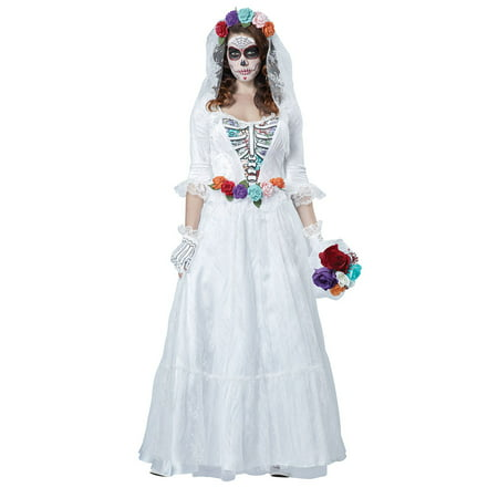 Womens La Novia Muerta Halloween Costume](La Ronde Halloween Party)