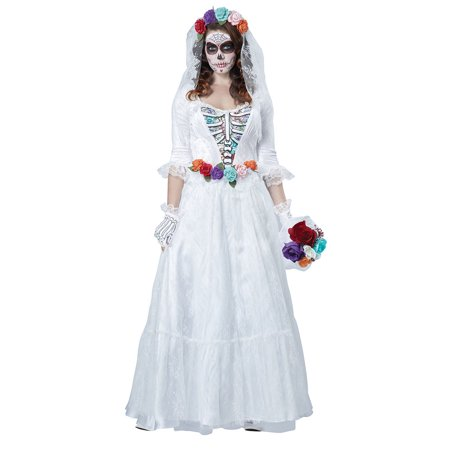 Womens La Novia Muerta Halloween Costume - Daily Bumps Halloween Special
