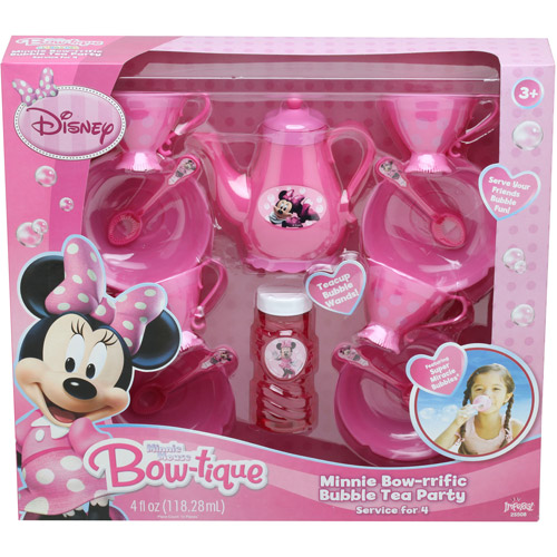 Disney Minnie Mouse Bow-riffic Bubble Tea Party Set