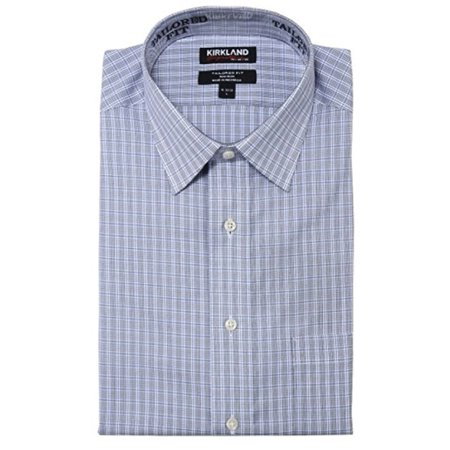 Tailored Fit Non-Iron 100% Cotton Spread Collar Shirt (Geoffrey Beene Spread Collar Dress Shirt)
