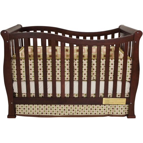 Image of AFG Baby Furniture Nadia 3-in-1 Convertible Crib Espresso