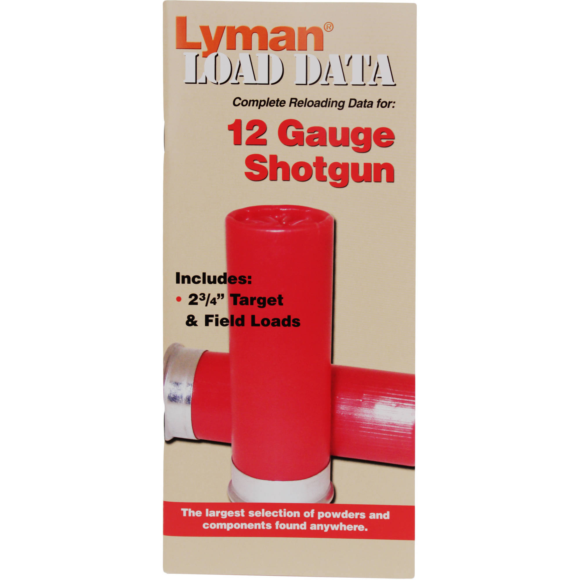 Lyman Load Data Book 12 Gauge