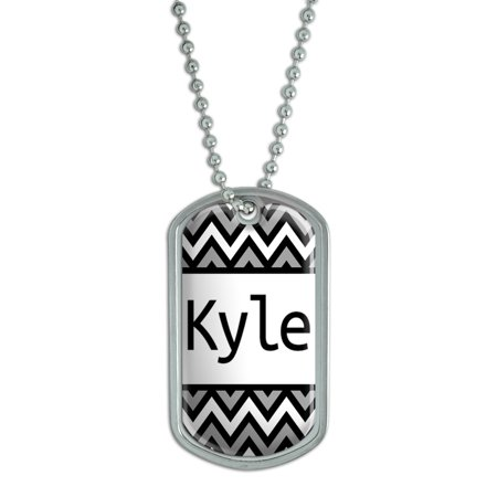 Male Names - Kyle - Dog Tag