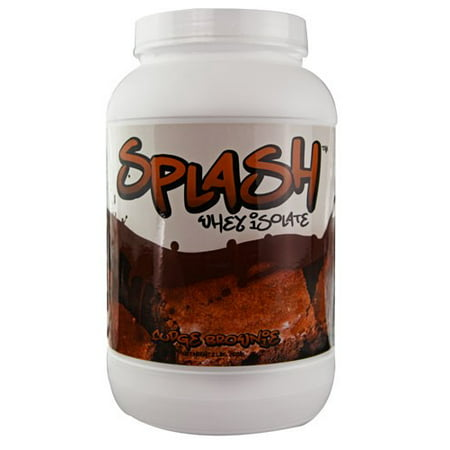 Image of About Time SDC Nutrition SPLASH Whey Isolate Fudge Brownie - 2 lbs