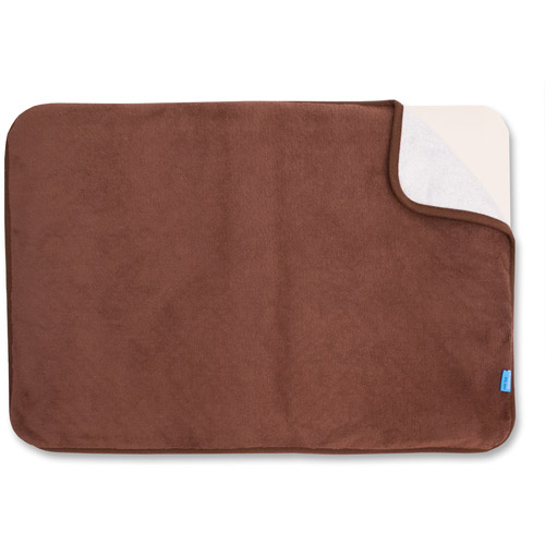 Image of Airia Basics QuickChange Bath Mat 2-Piece Set, Mat and Cover