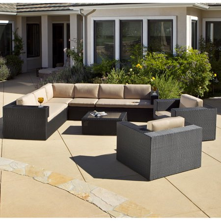 Home Loft Concepts Brooklyn 7 Piece Sunbrella Sectional Set With Cushions
