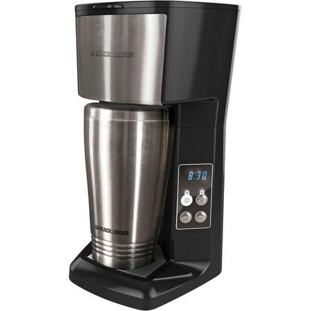 Black & Decker Single Serve Coffeemaker with Travel Mug