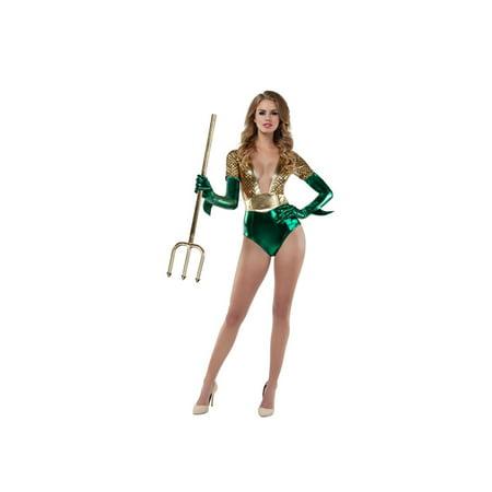 Halloween Adult Sassy Atlantis Queen Costume