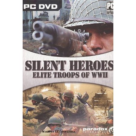 Silent Heroes: Elite Troops of WWII (PC DVDRom) Take control of special Army operation forces during World War (Best World War 2 Computer Games)