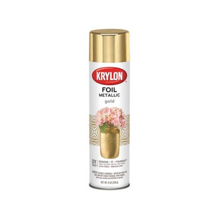 Krylon Metal Pens - Krylon Foil Metallic Gold Spray Paint, 8 Oz.