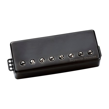 - Seymour Duncan Sentient 8-String Passive Guitar Pickup Black Metal Neck