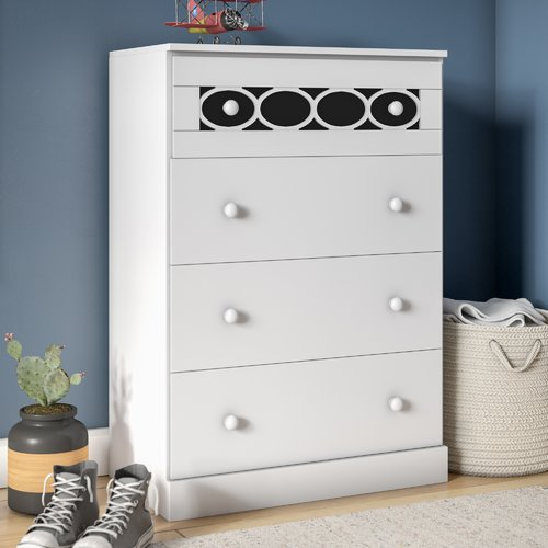 Zoomie Kids Stephon Contemporary 4 Drawer Chest