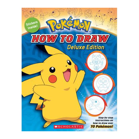 How to Draw Deluxe Edition (Pokémon) (Paperback) - Halloween Pics To Draw