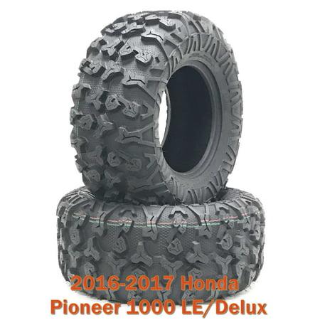 16-17 Honda Pioneer 1000 LE/Delux ATV Rear Tire Set 27x11R14 8PR