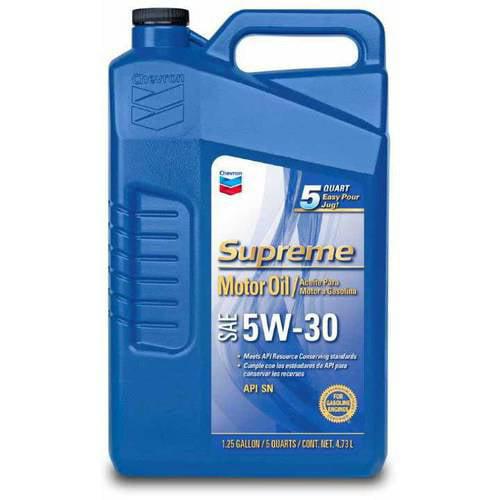 Chevron Supreme Motor Oil, 5W30