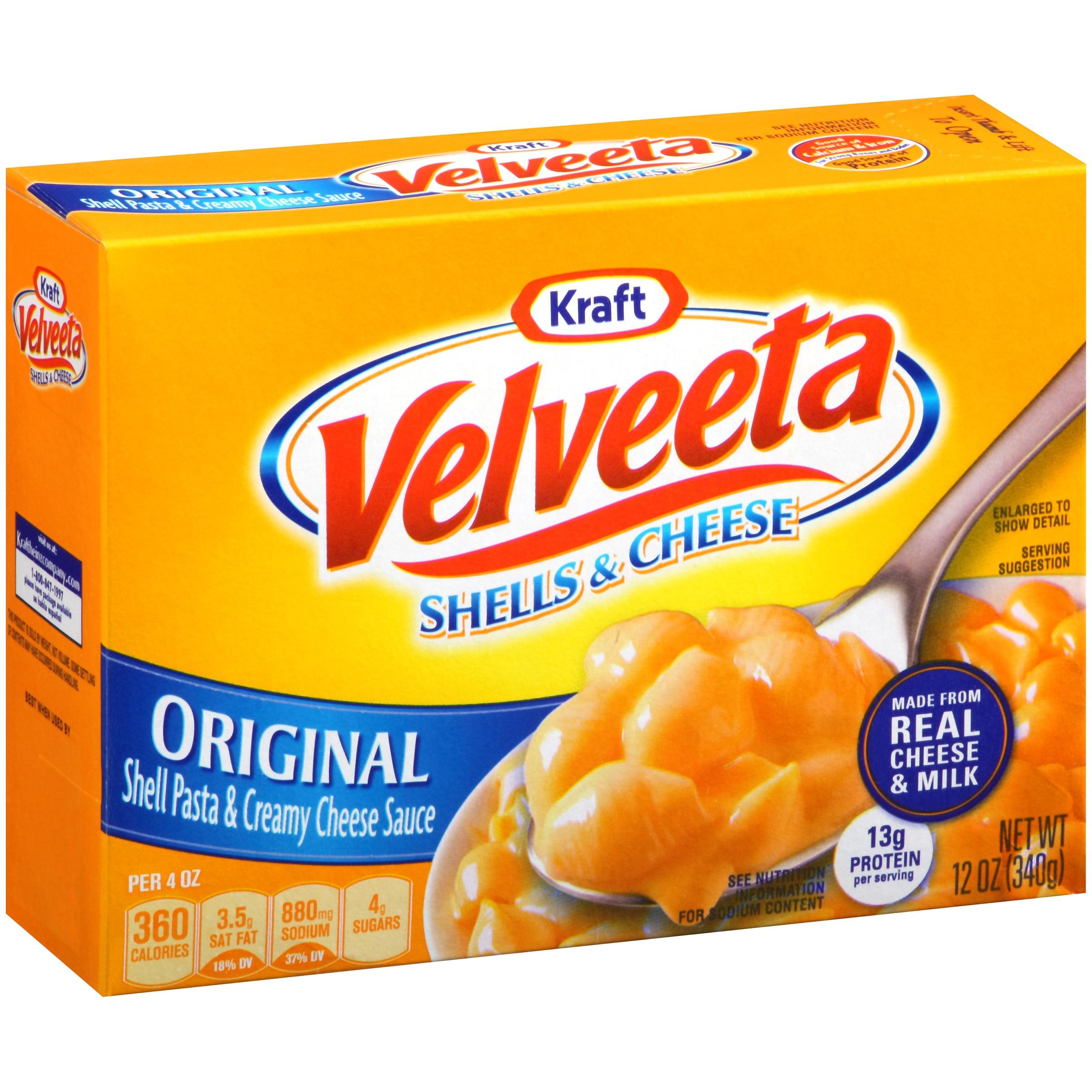 Kraft Original Velveeta Shells & Cheese, 12 oz
