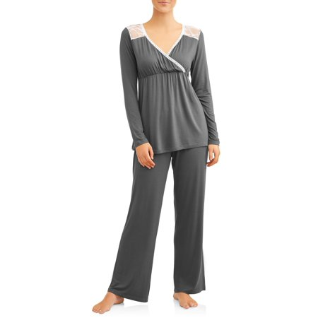 Nurture by Lamaze Maternity Nursing Long Sleeve Top and Pants Sleep - Halloween Ideas For Pregnant Ladies
