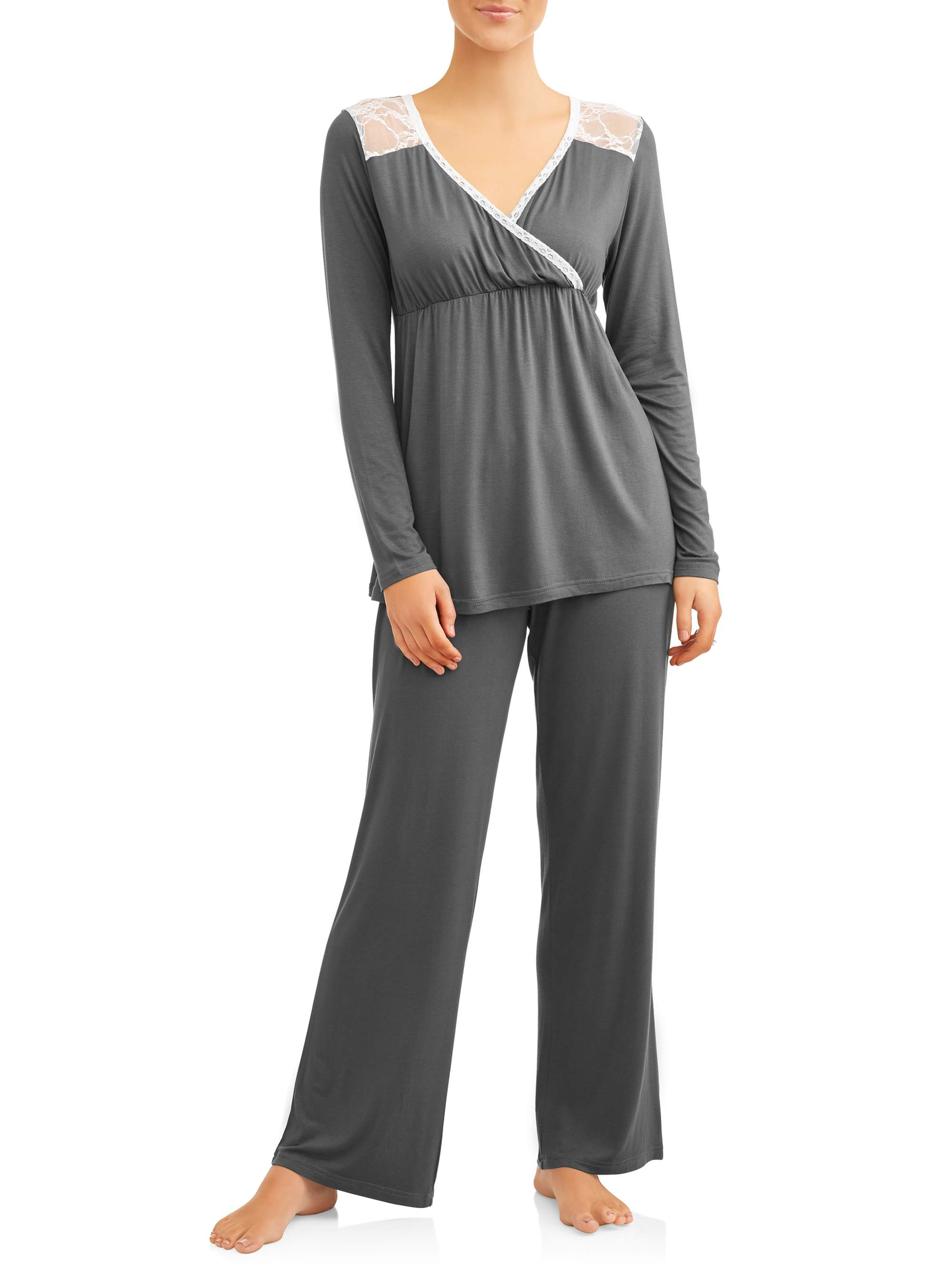Plus Size Maternity Sleepwear