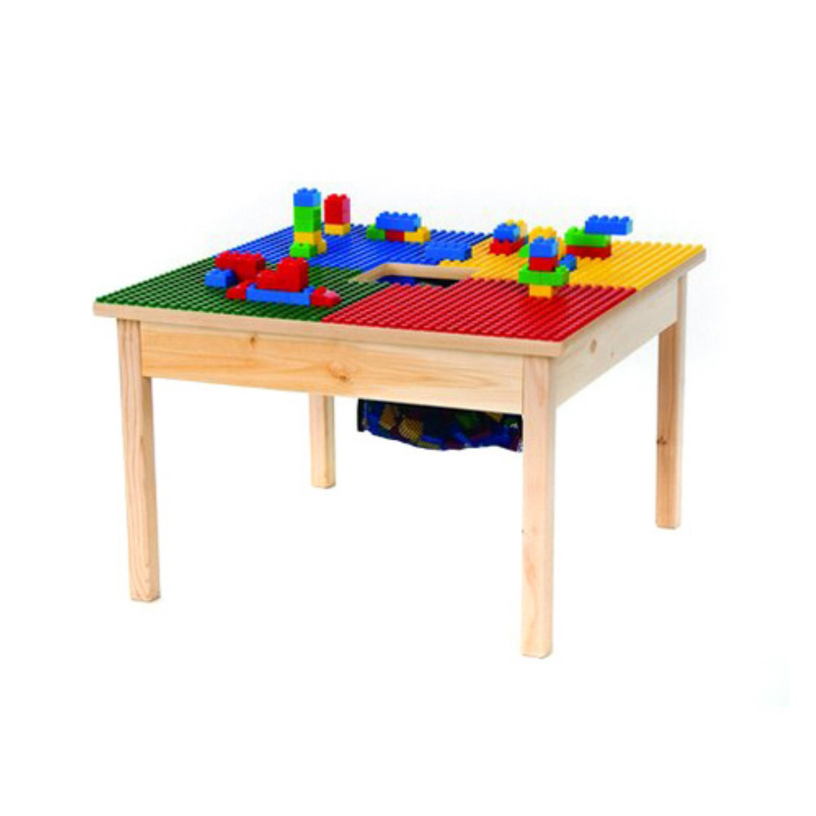 Synergy Fun Builder 27 x 27 in. Building Block Table