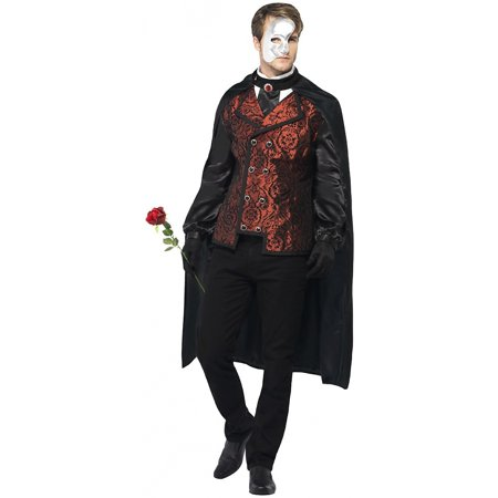 Dark Opera Masquerade Adult Costume - Large for $<!---->