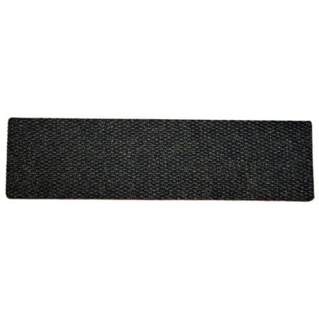 "Dean Indoor/Outdoor Non Skid Carpet Stair Treads - Black - 36"" x 9"" (Set of 3)"