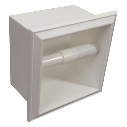 WG Wood Products Recessed Toilet Paper Holder