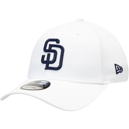 San Diego Padres New Era League 9FORTY Adjustable Hat - White - OSFA