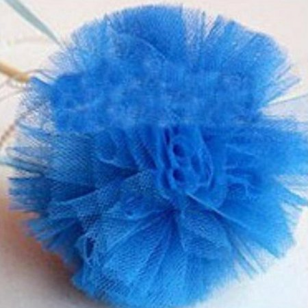TURNTABLE LAB Fluffy Party POM POM Gauze Tulle Flower Magic Stick Venue Baby shower Decor Nice - Green And Brown Baby Shower Decorations