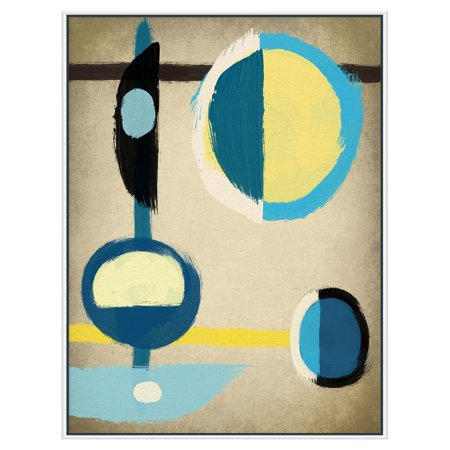 PTM Images Blue Motion I Canvas Wall Art - Walmart.com