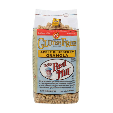 Bobs Red Mill Gluten Free Granola Apple Blueberry, 12