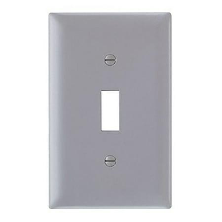 Seymour Toggle (Pass ; Seymour TP1GRY tradeMaster ; 1-Gang Standard-Size Toggle Switch Wallplate)