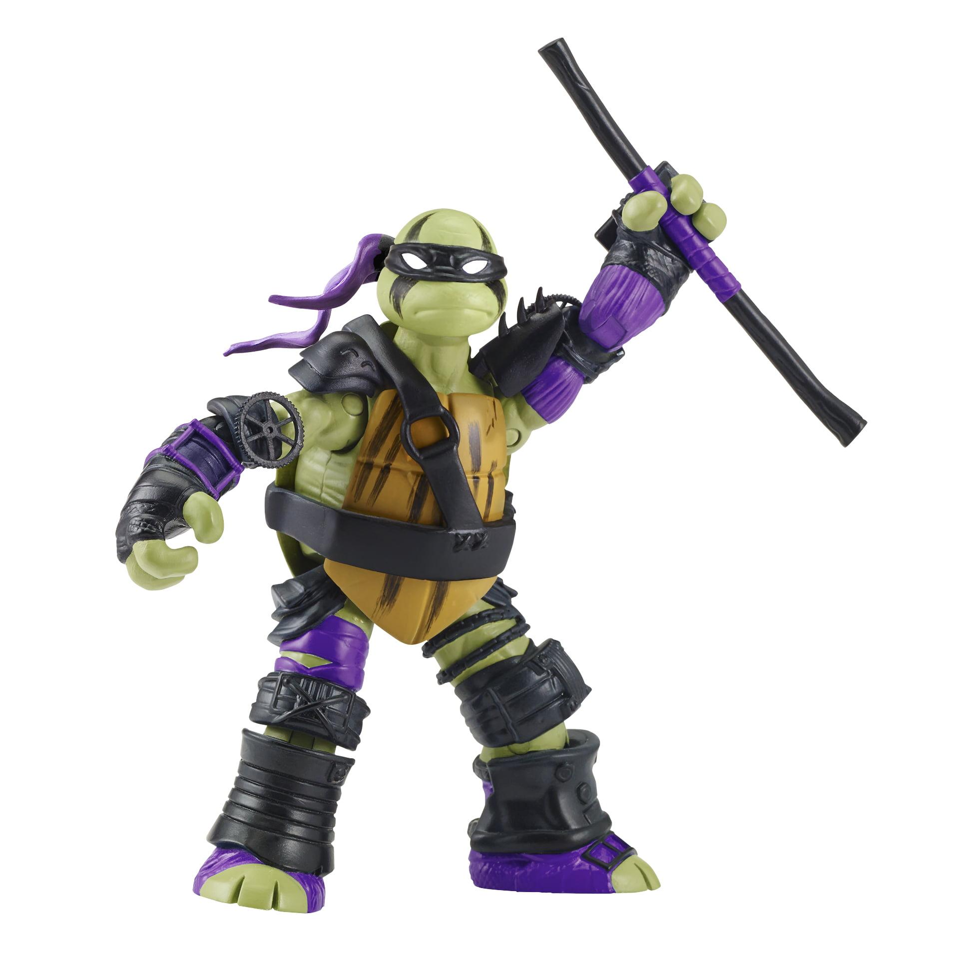 "TMNT 5"" Super Ninja Donatello Basic Action Figure by Playmates Toys"