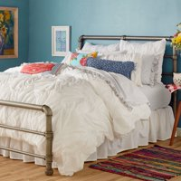 The Pioneer Woman Ruched Chevron Duvet Cover