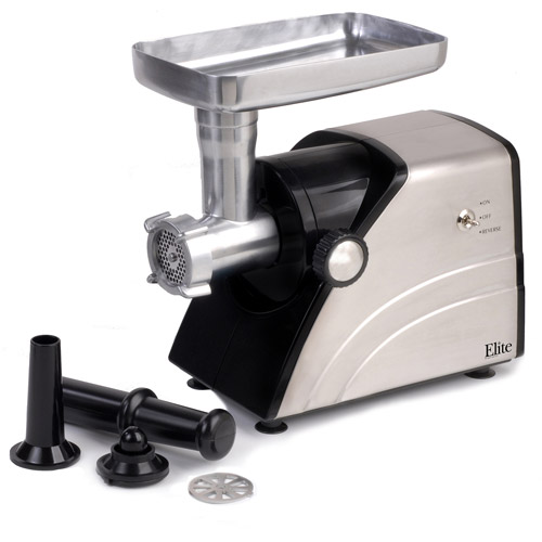 Elite Platinum Meat Grinder 550-Watt