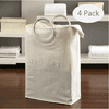 Better Homes & Gardens Laundry Sentiments Collapsible Laundry Tote 4 Pack