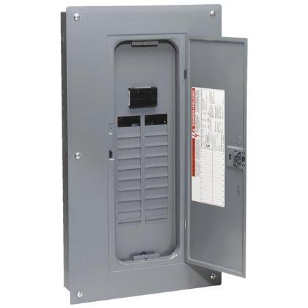 Amp Indoor Main Breaker Load (Square D Homeline 100A Main Breaker Plug-on Neutral Load Center )