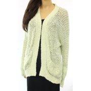 Free People NEW Green Women's Size Small S Yarn Knit Cardigan Sweater