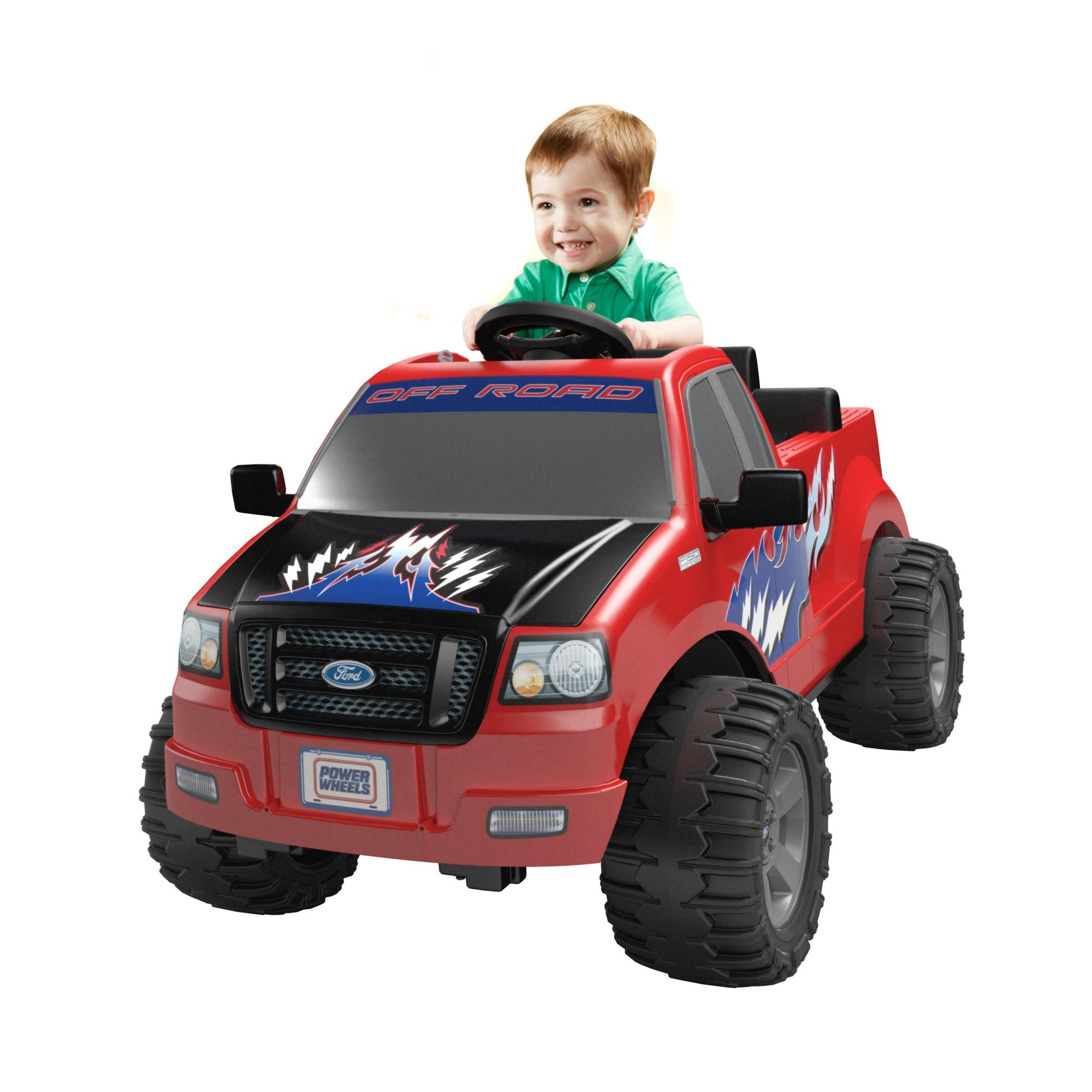 Power Wheels Ford Lil' F-150 Battery-Operated Ride-On by FISHER PRICE