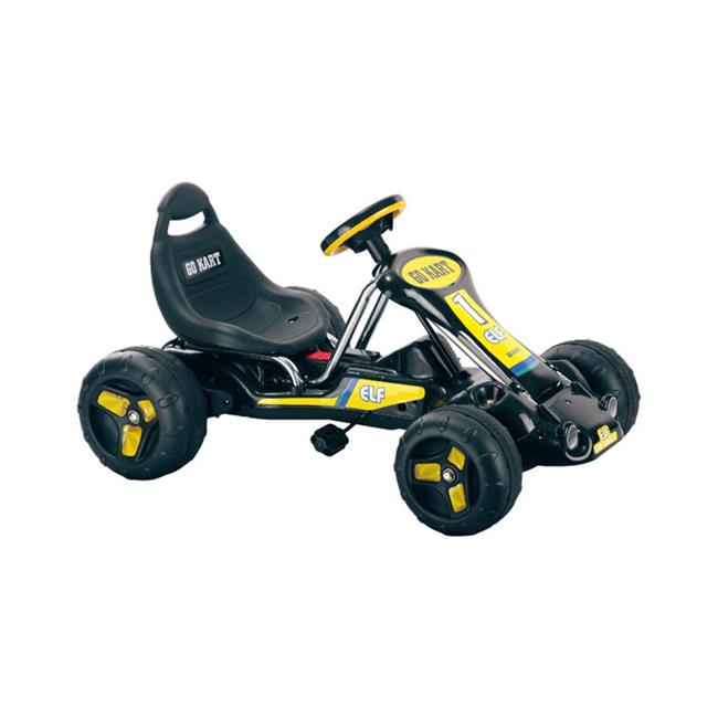 Trademark Poker Lil RiderT Black Stealth Pedal Powered Go-Kart