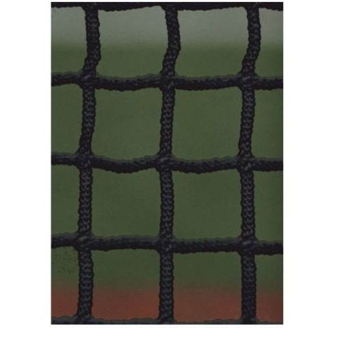 Nylon Lacrosse Net, Black 5 mm by Athletic Connection